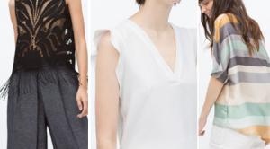 2015 İlkbahar Modası Zara Bluz Modelleri